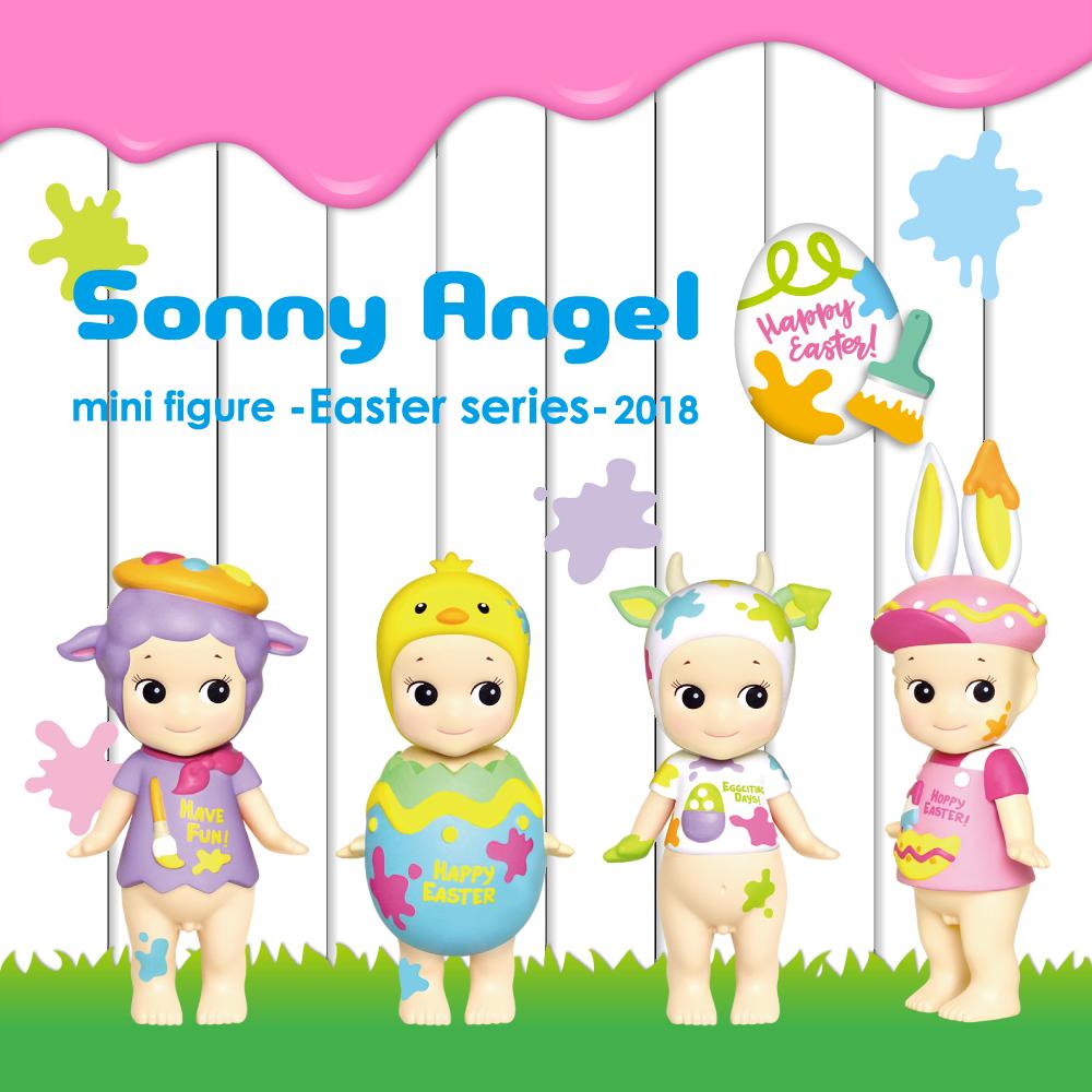 Sonny Angel Pasqua serie 2018 x 6 Pezzi Set tuttiA CIECA REGALO COLLEZIONISMO