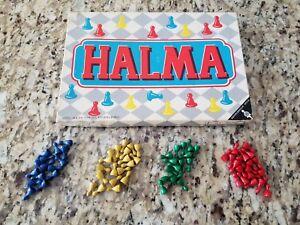 Vintage-Halma-Board-Game-Chinese-Checkers-German-Schmidt-Spiele-RARE