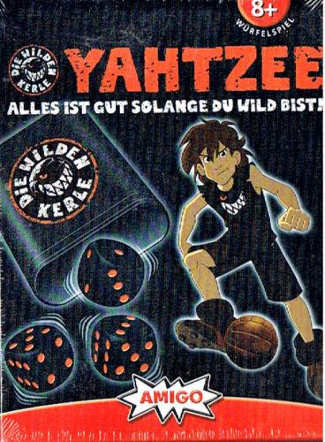 Yahtzee Würfelspiel Die wilden Kerle Becher Amigo 02780 ab 8 Jahre Neuware Ovp