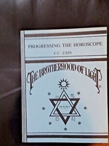 Details about Progressing Horoscope BROTHERHOOD OF  LIGHT,C C Zain,occult,esoteric,metaphysical