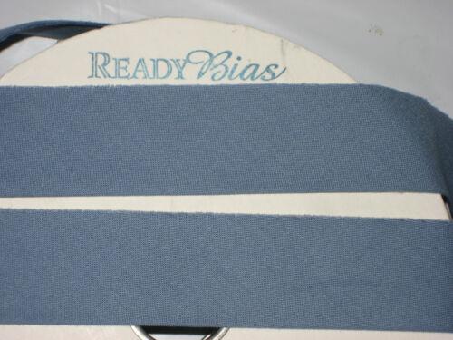"READY BIAS quilt Binding tape 2.5/""W folded $1.39 yd BLUE P/&B cotton like moda"