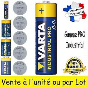 Au choix Piles VARTA LR6 LR03 LR14 LR20 6LR61 CR2450 CR2430 CR2032 CR2025 CR2016