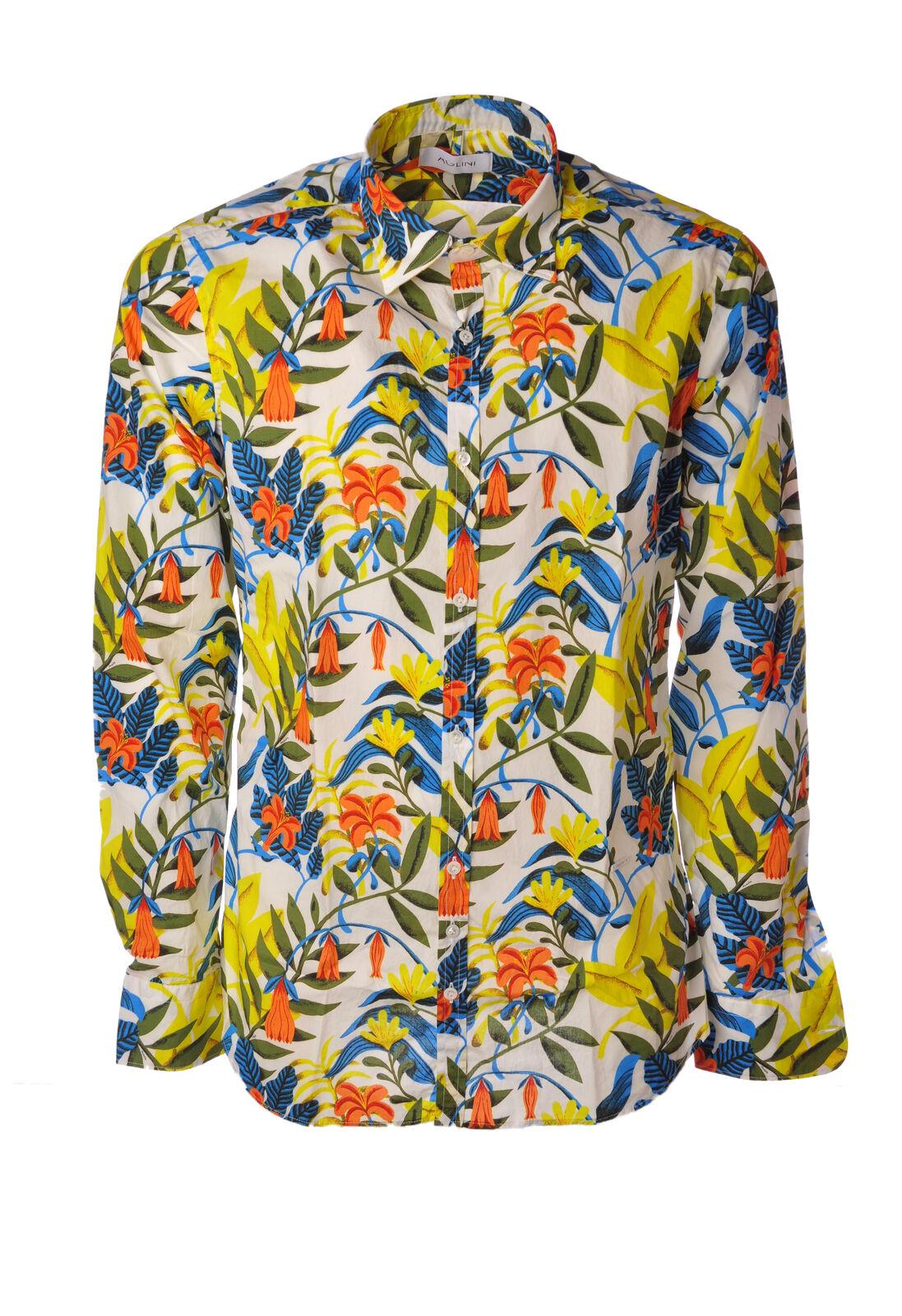 Aglini - bluesen-Shirt - Mann - Fantasie - 4997205G183935