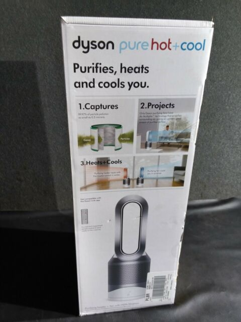 Dyson HP01 Hot and Cool Purifier Air Purifier and Fan Silver New In Box