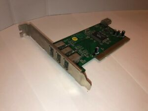 VIA VT6306 3+1-Port IEEE 1394 FireWire PCI Controller Card