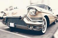 Classic Cadillac Car Poster 24x36