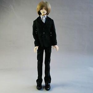 511#black Suit//set 5 Pieces 1//4 MSD AOD LUTS BJD Boy Doll Dollfie PF
