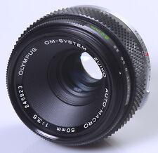 OBJECTIF 3,5/50mm OLYMPUS OM AUTO MACRO - OLYMPUS OM SYSTEM !!!!!!