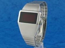 70 Años 70 Antiguos De Estilo Vintage Led Lcd Digital Raro Retro Para Hombre Reloj 12 Y 24 Hora L
