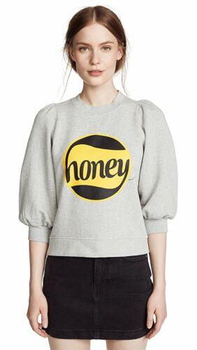 Ganni Gray Small  Honey Sweatshirt Sweater  Lott I