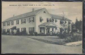 Image Is Loading Postcard Camp Hill Pennsylvania Pa Georgian Hall Tourist
