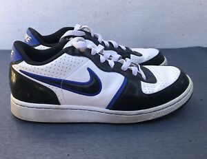 Mens NIKE Air Zoom Infiltrator Low Blue White And Black ...