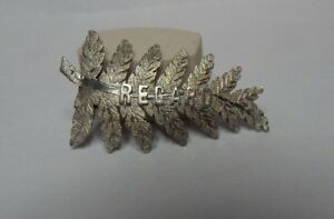 Antique-Victorian-Fern-Brooch-034-Regard-034-4-5-cm-039-s-solid-silver