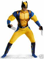 Wolverine Days of Future Past Adult Muscle Costume Size 42-46 Brand New - 50358