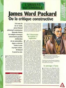 James-Ward-Packard-Alexander-Winton-Packard-F-Old-Pacific-Car-Auto-FICHE-FRANCE
