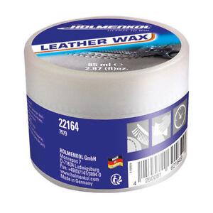 Leather-Wax-Holmenkol-85ml-Impraegnierung-Schuhecreme-Pflege-Wander-Outdoorschuhe