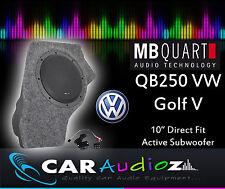MB Quart QB-250 Golf V Active Box 25cm Aktive Brauch Subwoofer Box QB250 Golf V
