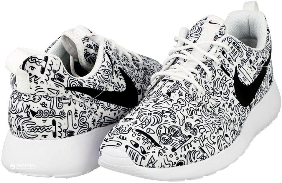 Womens Nike Roshe Sneaker One Print Premium Gr:38,5 Presto Moire Sneaker Roshe 749986-100 free 9840b9
