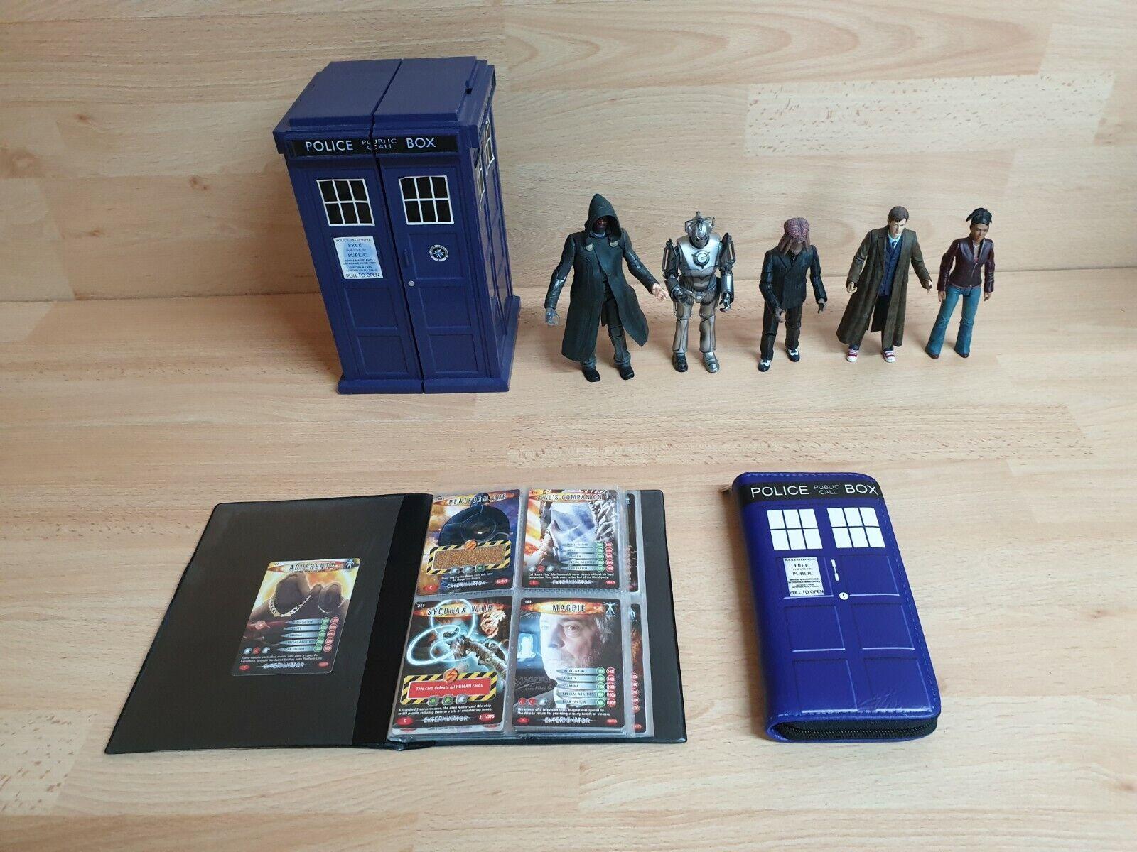 FASCIO di Doctor Who azione cifra Borsa schede  Tardis ALCUNE RARE  negozio online