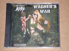 THE GREAT KAT - WAGNER'S WAR - CD SIGILLATO (SEALED)