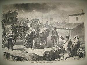 ERUPTION-VESUVE-TORRE-DEL-GRECO-CHATEAU-WINDSOR-INDE-GANGE-NOEL-GRAVURES-1861