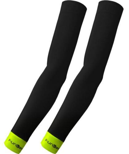 Cycling arm warmers Funkier repousser Protection Thermique Noir SLV-658 Petit