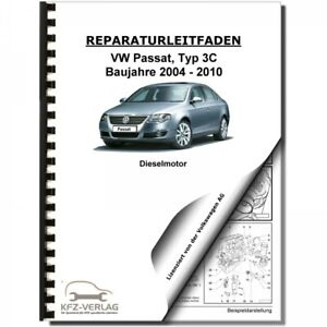 04-10 VW Passat 6 Typ 3C 4-Zyl 2,0l Dieselmotor TDI 140 PS ...
