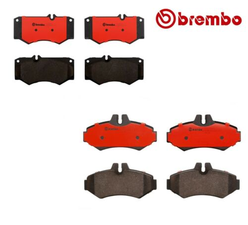 New Front and Rear Ceramic Brake Pads Kit Brembo For MB W463 G500 G55 AMG G550