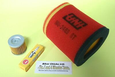 SUZUKI  07-09 LTZ400 Tune Up Kit NGK Spark Plug /& Oil Filter