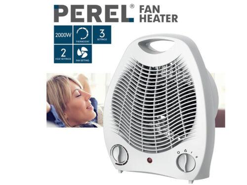 Électrique soufflant avec Thermostat /& ventilateur chauffage mobile appareils de chauffage