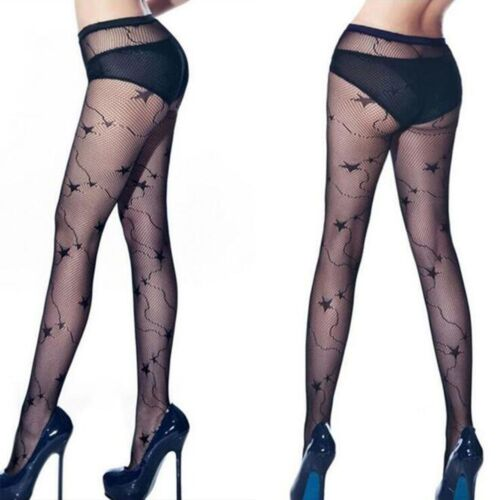 Lace Gothic Punk Stretch For Women Pantyhose Fish Net Stockings