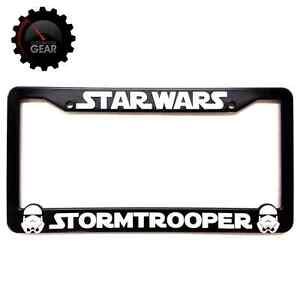 image is loading star wars stormtrooper license plate frame 3 d