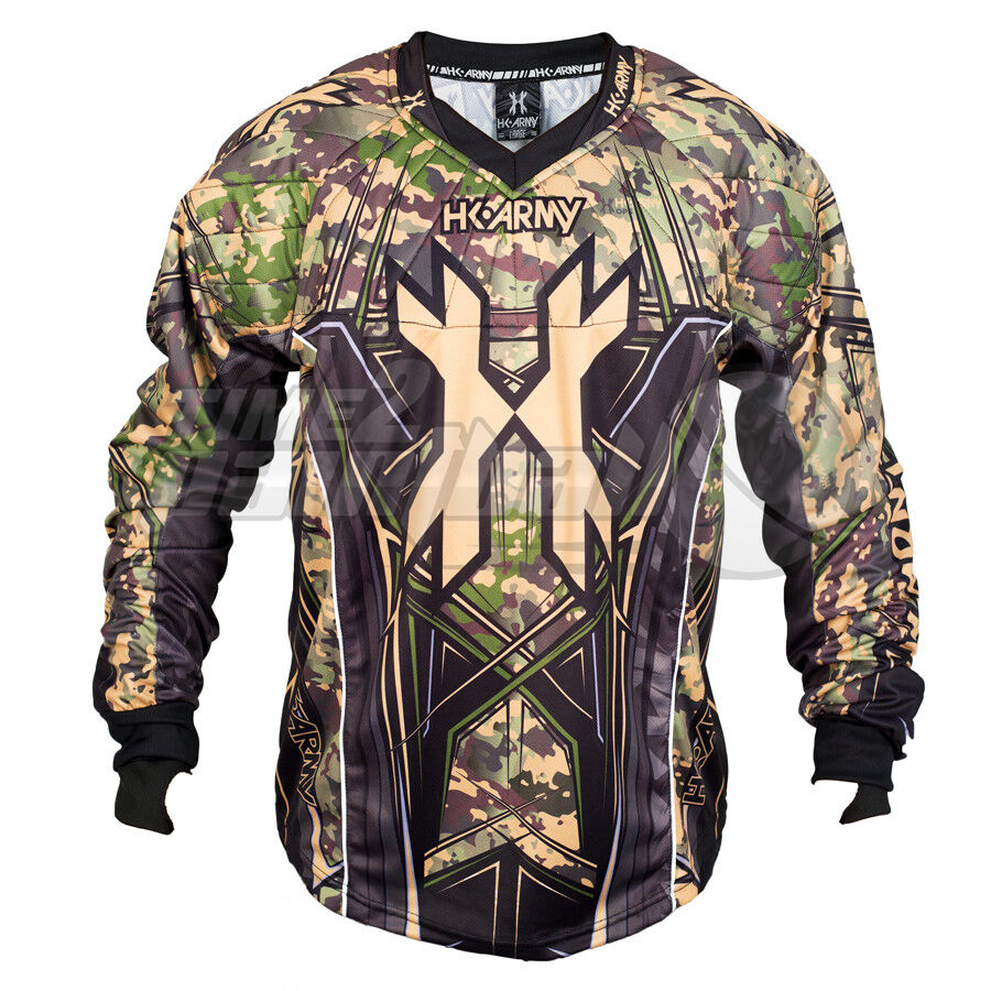 HK Army HSTL Line Jersey - - - Camo - Large FREE SHIPPING Paintball 718766