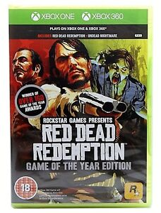 Details about Red Dead Redemption Game of The Year XBox 360 Backwards  Compatible with Xbox One