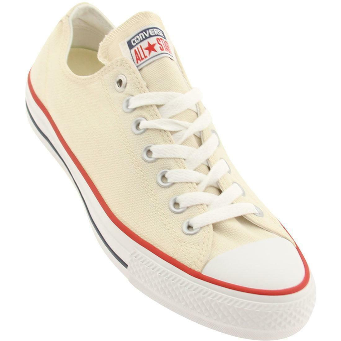 CONVERSE ALL STAR CHUCK TAYLOR PRO OX LOW MEN chaussures BEIGE 142765C Taille 12 NEW