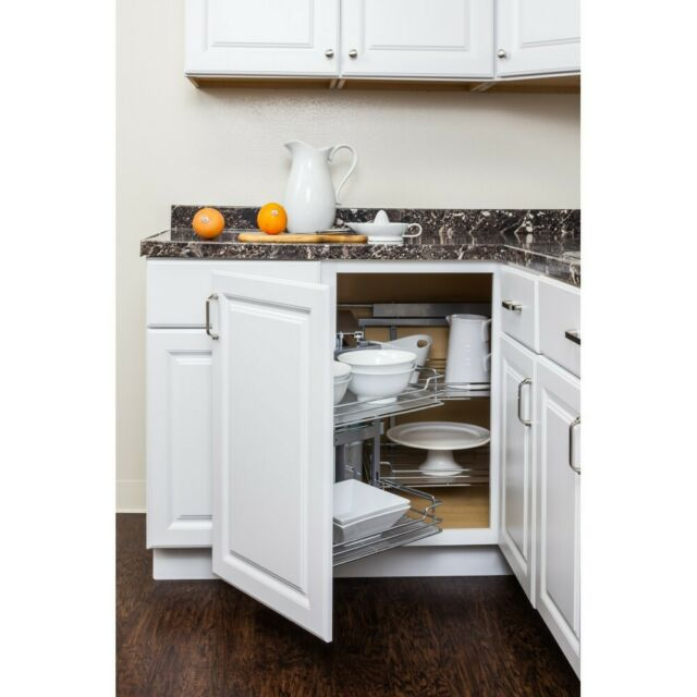 Door Mounted Blind Corner Kitchen Cabinet Organizer Pullout For Corner Base For Sale Online