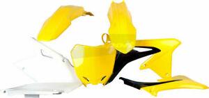 Polisport 8412500005 Radiator Shroud Plastics Black//Yellow Suzuki RMZ450 2008-17