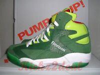 Reebok Shaq Attaq Christmas Sz 9 - 10 Sonic Green/red V61428 Shaqnosis Oneal