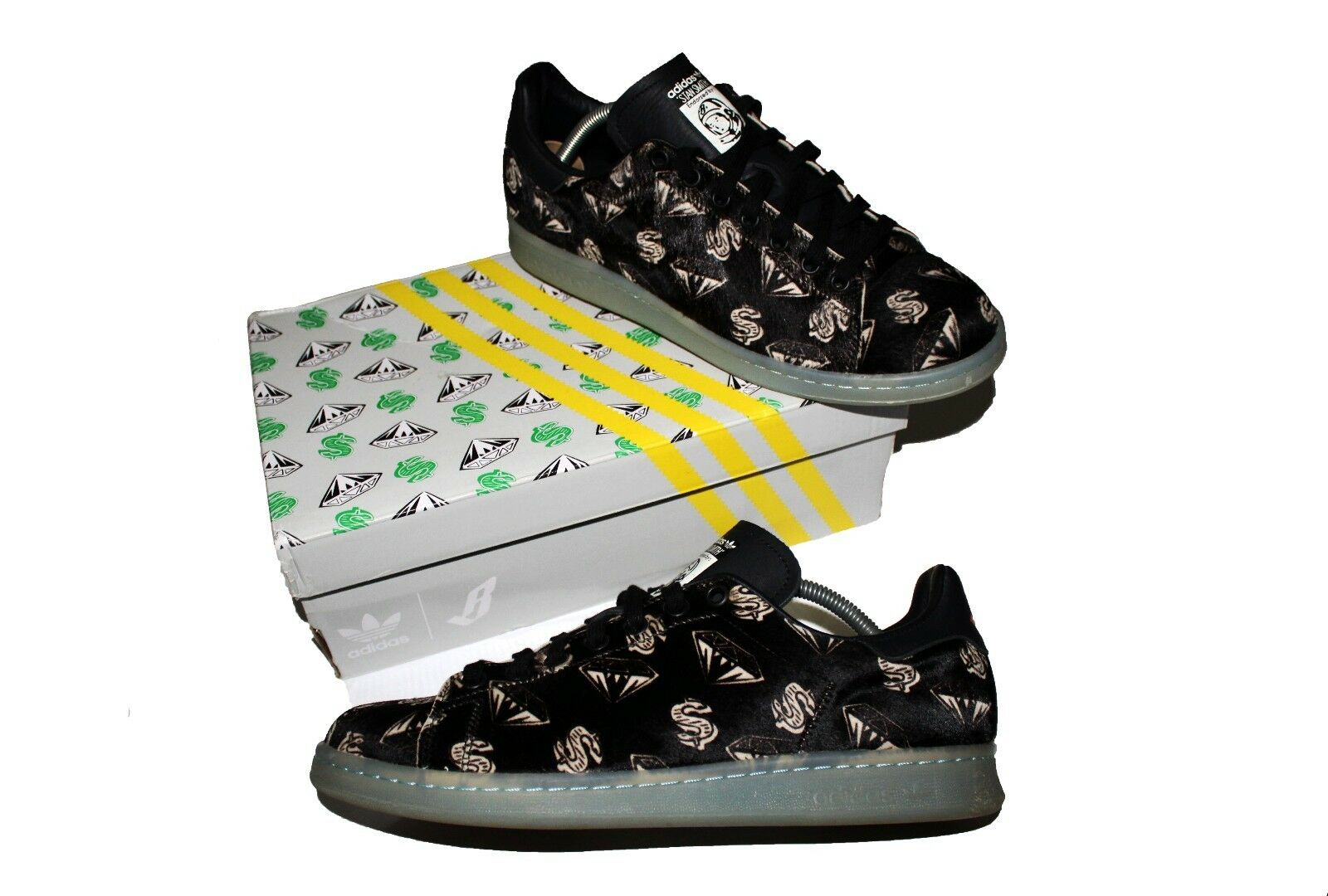 Adidas Pharrell Williams x Ponyhair BBC x Stan Smith Ponyhair x Billionaire Boys Club 9.5 32f710