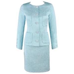 light blue chanel dress