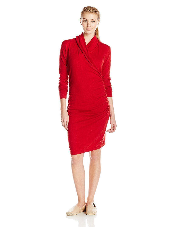 NEW LOLE Women's Paula Dress, Carnelian, XSmall XS