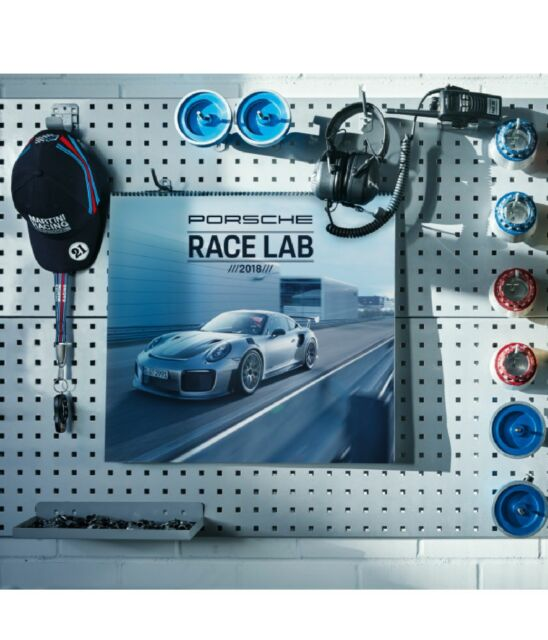 Porsche Kalender 2018 Racelab Wandkalender Mit Sammlermünze Orig