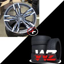 "19"" Wheels/Tires fits BMW 6 Series 7 Series M6 Sport Style 433 F12 Rims Gunmetal"