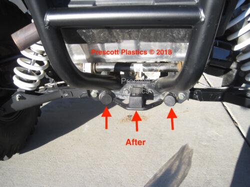 F04 RZR 900 Receiver Hitch and Frame Hole Plug Cap Set Polaris Accessory