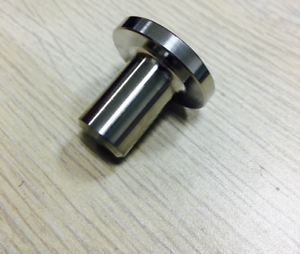 Stainless Fanuc EDM Parts F125 Upper Jet Nozzle 0.8mm A290-8102-Y754 Sub Guide