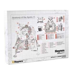 Haynes-Manuel-Anatomy-of-the-Apollo-11-NASA-1000-Piece-Jigsaw-Puzzle-NEW-amp-BOXED