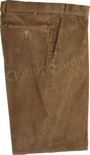 Velluto a Coste Casual Pantaloni 32-46 C1 da Uomo Smart Qualità ESPANDIBILE Needle CAVI