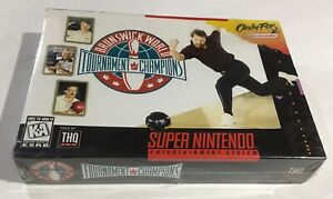 Rare-First-Print-Full-Color-Bowling-Super-Nintendo-SNES-BRAND-NEW-FACTORY-SEALED