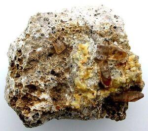 Golden-Topaz-Crystal-Host-Rock-Tepetate-San-Luis-Potosi-Mexico-Gemstone-EBS1589