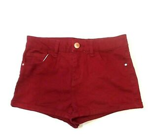 Refuge-Womens-Shorts-Size-4-Cuffed-Hem-Booty-Shorty-Mini-Stretch-Low-Rise